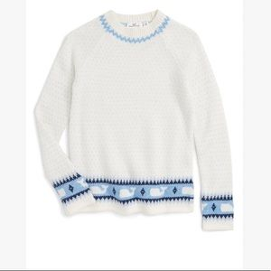 Vineyard Vines whale sweater